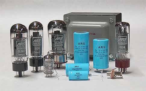 Audio Electron Tubes - Guitar Amp Tubes - Tube Amp Repair Parts ...